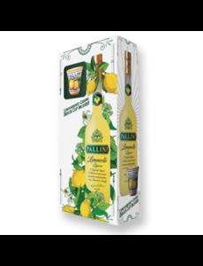 Pallini Limoncello 50cl + Glas + GB