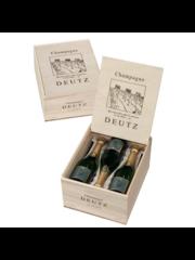 Deutz Brut 'Classic' in Houten Kist