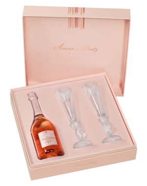 Deutz 'Amour de Deutz' Rosé in Giftbox + 2 Glazen 2008