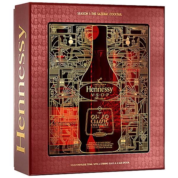 Hennesy Hennessy VSOP Privilege + Glass + Bar Spoon