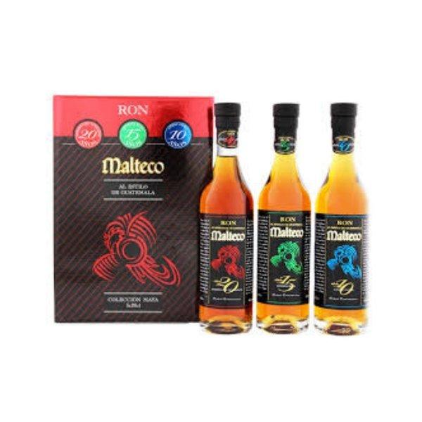 Ron Malteco Ron Malteco Set (3x20Cl Bottles) + Gb