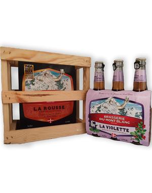 La Blonde Du Mont La blonde & La Blanche bierpakket - 6 flessen