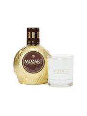 Mozart Chocolate Cream Gold + Glass