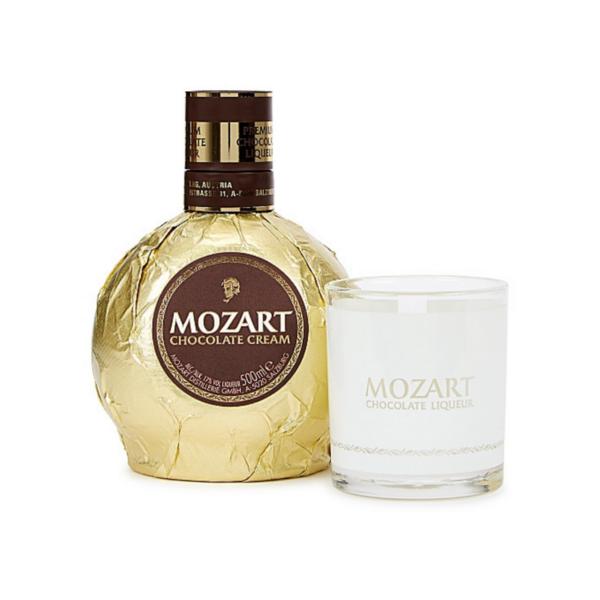 Mozart Chocolate Cream Gold + Glass