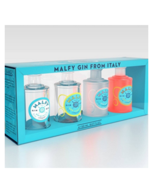 Malfy Gin Mixed Flavours Miniset + GB