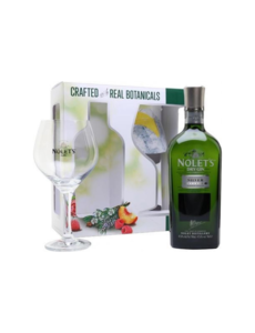 Nolet's Silver Dry Gin + Glass