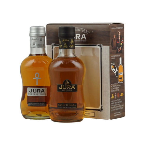 Isle Of Jura Junior Set + 2 Glasses