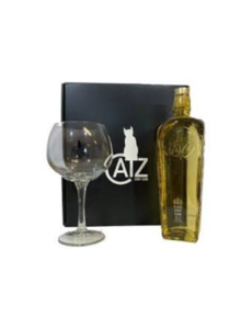 CATZ Dry Gin + Glass + GB