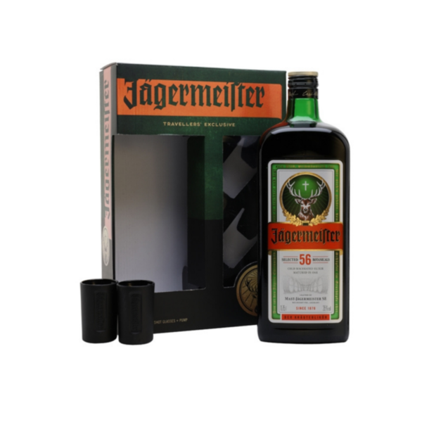 Jägermeister Pump + 2 Glasses