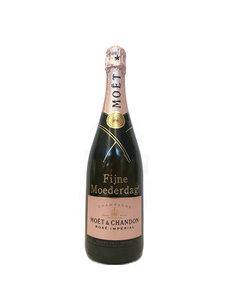 Moët & Chandon Rosé 1,5 Liter met gouden opschrift
