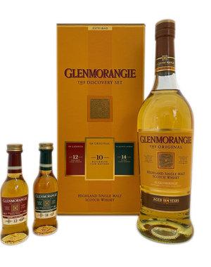 Glenmorangie 10y The Original 70cl + 5cl Lasanta + 5cl Ruban