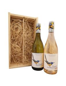 Tomtit Geschenkkist Sauvignon Blanc & Blush Rosé