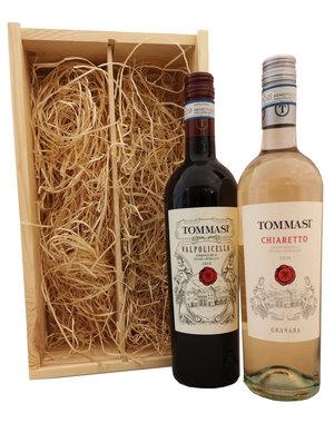 Tommasi Geschenkkist Tommasi Valpolicella & Granara Bardolino Chiaretto