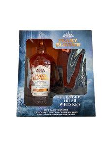 Sadlers Irish Whiskey in Giftbox met Peaky Blinders pet