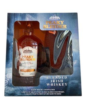 Peaky Blinders Irish Whiskey in Giftbox met Peaky Blinders pet