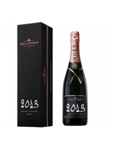 Moët & Chandon Grand Vintage Rosé 2013 in Giftbox 75CL