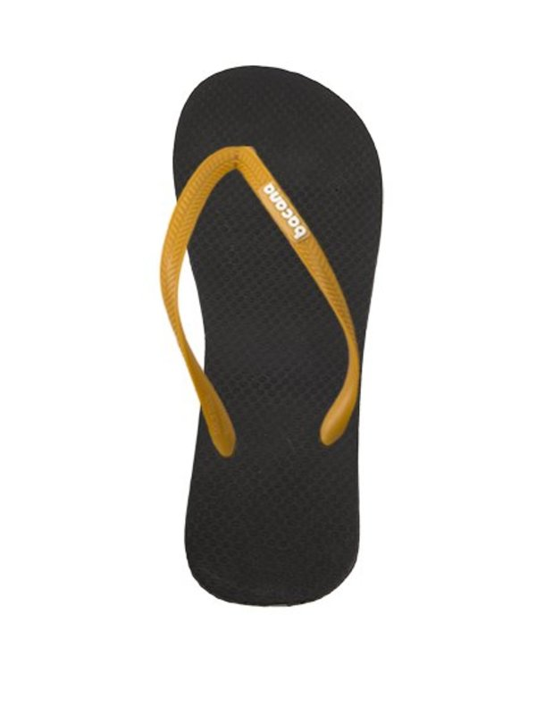 Midsummernight blue with sunglow yellow flipflops - Copy
