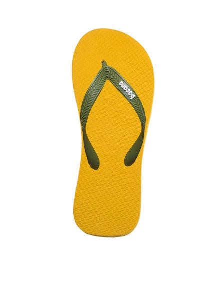 Sunglow yellow with midsummernight blue flipflops - Copy - Copy
