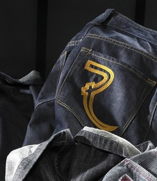 EP Raw Indigo Blue Double- Jeans