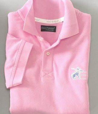 Fuchsia Pink Leu Piqué Polo