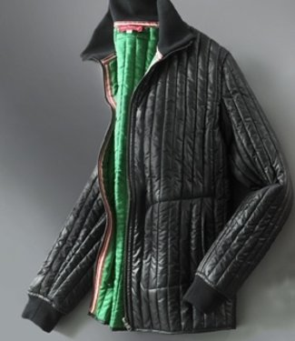EP Brillant Black Edolini Quilted Jacket MKII