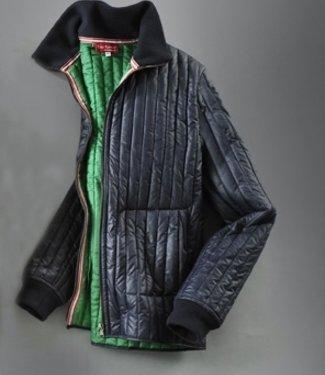 EP Glossy Blue Edolini Quilted Jacket MKII