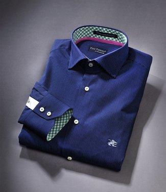 MB EL Titanium Skinny stripe Nightblue Limited Edition Dress Shirt