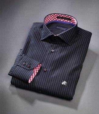 MB EL Titanium MKII Pinstripe Black Limited Edition Dress Shirt