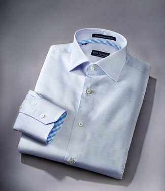 EP Protonic Blue and White Limited Edition Dress Shirt