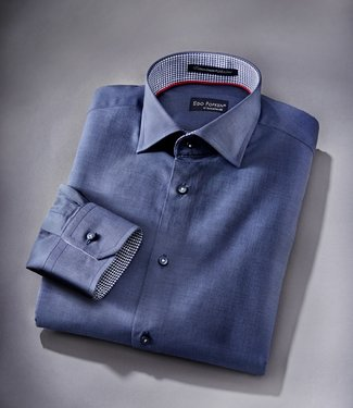 EP Midnight Blue Two-Tone Limited Edition Dress Shirt