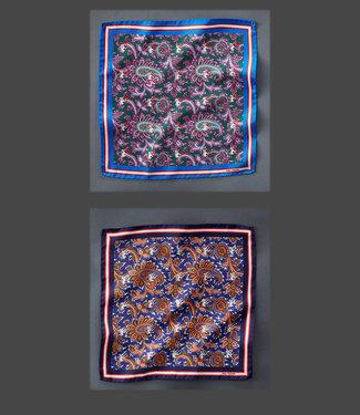 EP Silk Pocket Square E-Paisley