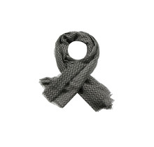 G-Maxx sjaal Claudia zwart/grijs