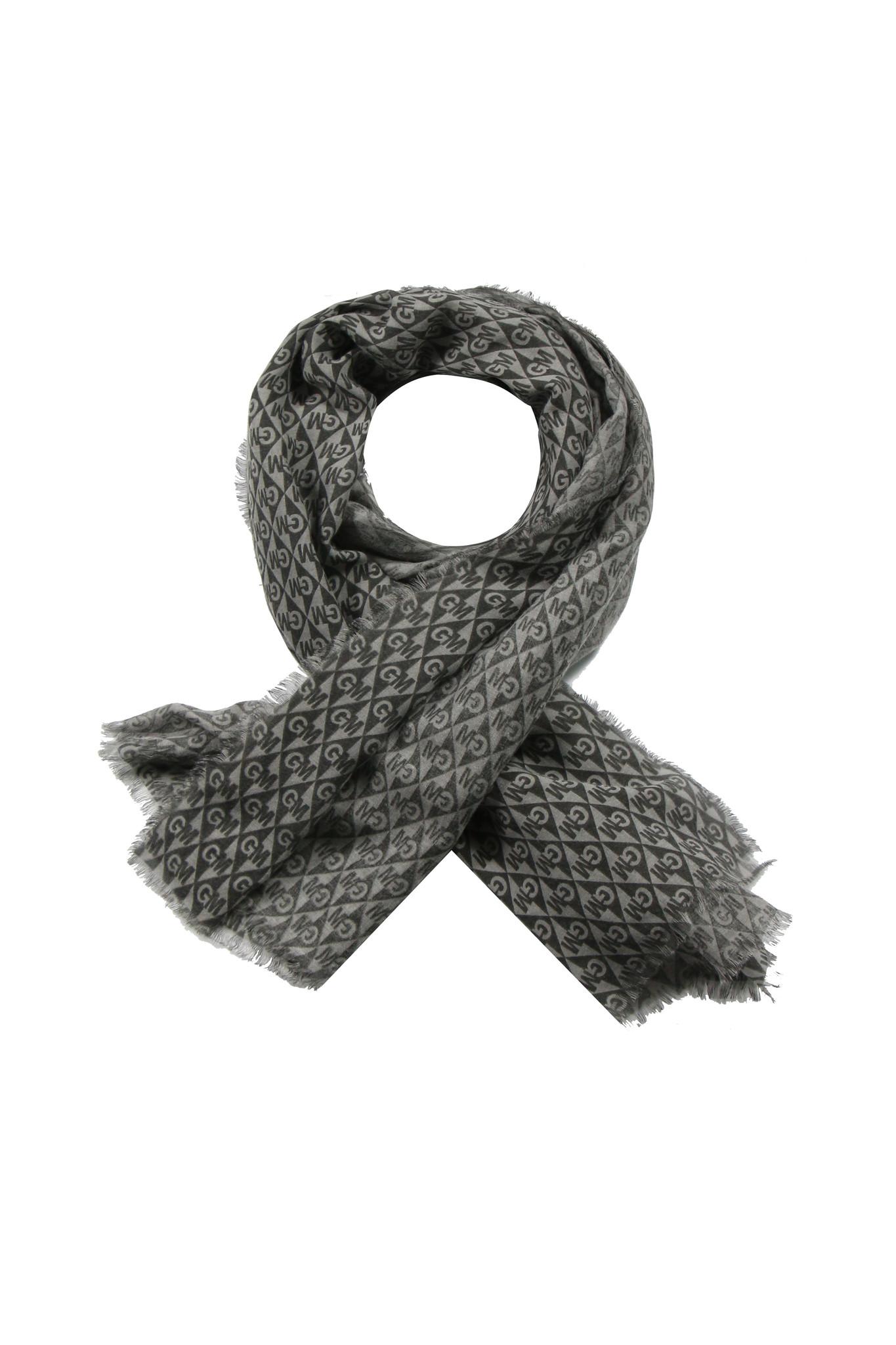 g-maxx G-Maxx shawl Claudia zwart/grijs
