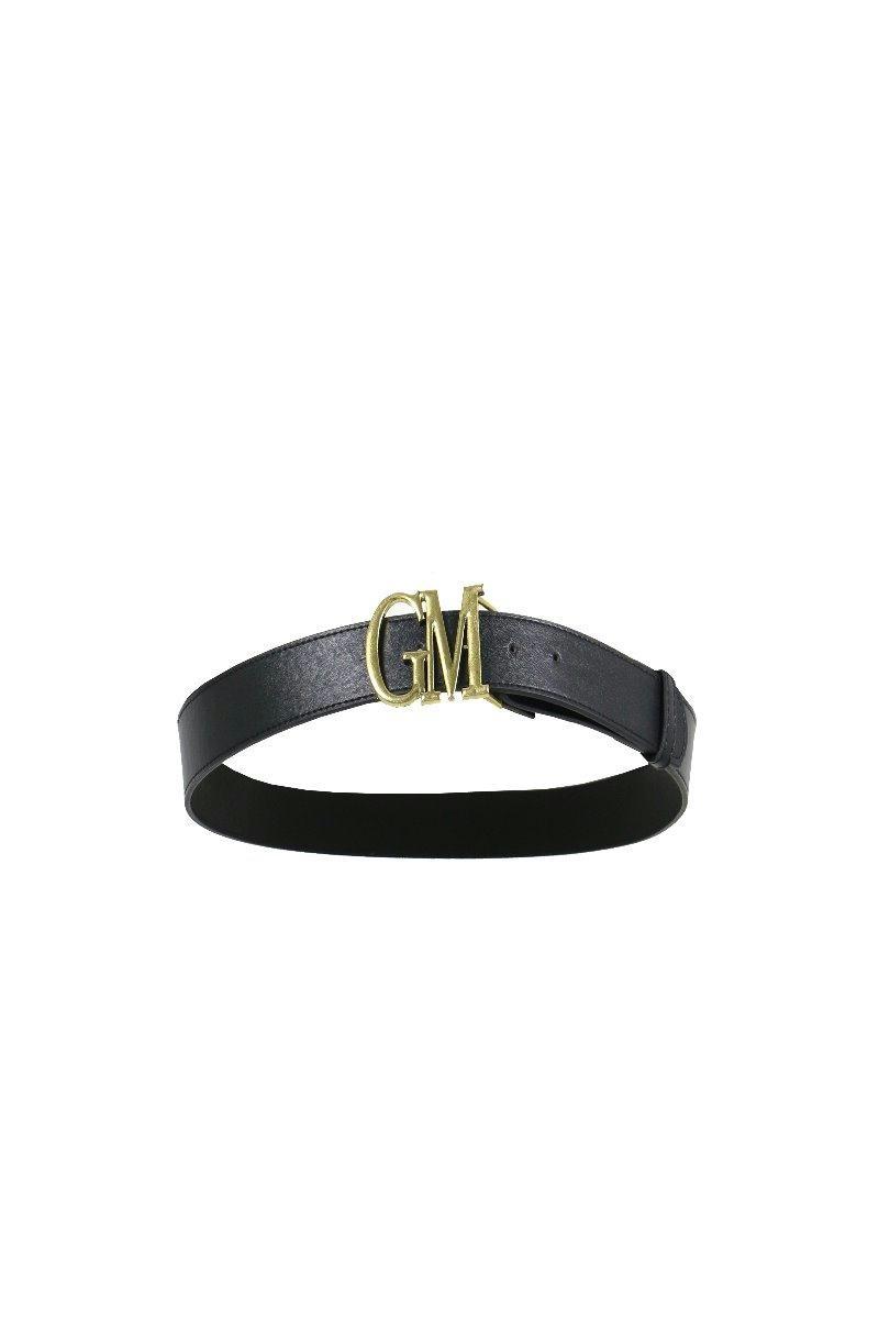 g-maxx G-Maxx riem Allison zwart 3,6cm breed logo GM