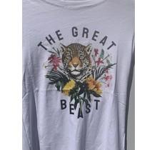 Shirt the great tijger print wit