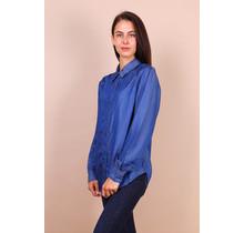 Toxik spijker blouse blauw