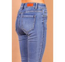 Toxik spijkerbroek blauw