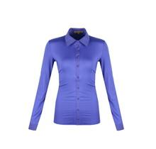 C&S blouse Dacia Kobalt Blauw