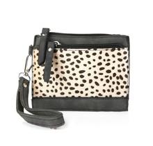 mini purse Cheetah brown