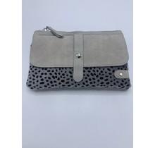 Bag cheetah grey