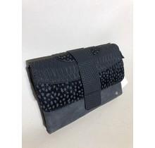 Bag cheetah zwart