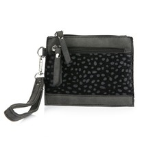 Mini purse Cheetah black