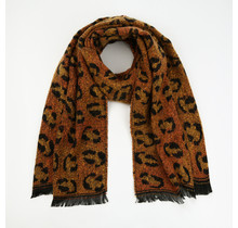 Sjaal Winter Leo oranje