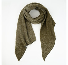 Sjaal winter Joy gemeleerd groen