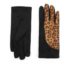 Handschoenen Krista zwart motief