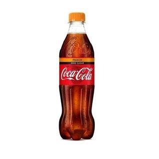 Coca-Cola Coca-Cola Zero Peach 0,5 l