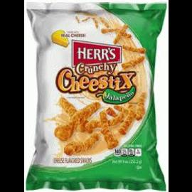 Herr's Herr's Crunchy Cheestix Jalapeño 255gr