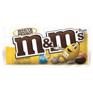 M & M 's M&M PEANUT WHITE CHOCOLATE 38g