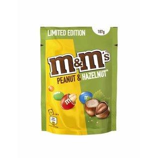 M & M 's M&M'S HAZELNOOT/PINDA  187gr