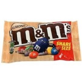 M & M 's M & M's Almond Share Size
